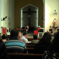 Photo taken at Igreja Nossa Senhora Das Gracas (tristeza) by Carlos N. on 10/21/2012