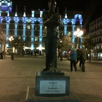 Photo taken at Plaza de Santa Ana by Dimitris T. on 11/12/2012