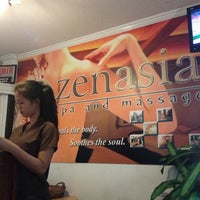 Photo taken at ZenAsia Spa and Massage by cha n. on 4/21/2013