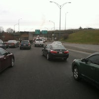 Photo taken at I-90 Weston Toll Plaza from / to I-95 (Exit 14) by Glen H. on 12/11/2012