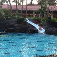 Photo taken at Melia Purosani Swimming Pool by Ike I. on 3/20/2014