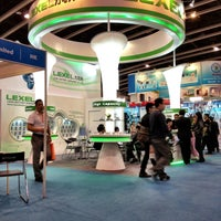Photo taken at Hong Kong Convention and Exhibition Centre by Роман Б. on 4/14/2013