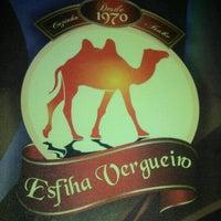 Photo taken at Esfiha Vergueiro by Thiago M. on 10/7/2012