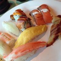 Photo taken at Sushi Dawa by JeongYun P. on 10/2/2013