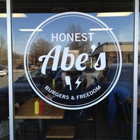 Photo taken at Honest Abe's Burgers & Freedom by Bruce B. on 11/28/2012