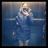 Photo taken at Бизнес-центр Мясникова, 70 by Natasha O. on 1/15/2014