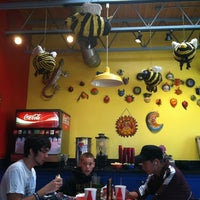 Photo taken at Bumble Bee's Baja Grill by Lisa H. on 10/6/2012