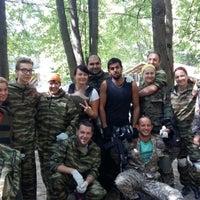 Photo taken at Пейнтбольный клуб Revolt by Elena S. on 7/25/2015