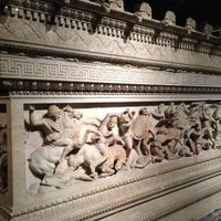 Photo taken at İstanbul Archaeological Museums by Merve N. on 11/22/2012