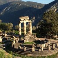 Photo taken at Delphi by Julia M. on 3/30/2018