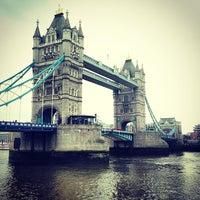Photo taken at Tower Bridge by Dmitry K. on 5/19/2013
