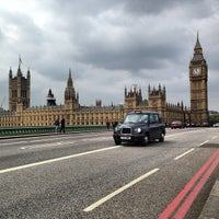 Photo taken at Westminster Bridge by Dmitry K. on 5/19/2013