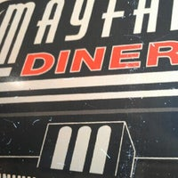 Photo taken at Mayfair Diner by Trice J. on 11/3/2012