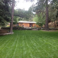Photo taken at Wrightwood Guest Ranch by Heather M. on 7/27/2013