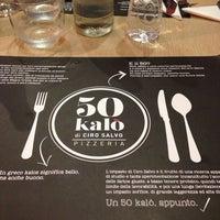 Foto scattata a 50 Kalò di Ciro Salvo da Pasquale d. il 3/9/2014