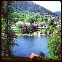 Photo taken at Gamlehaugen by Kasia Z. on 6/21/2013