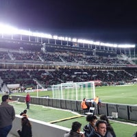Photo taken at Estadio Manuel Martínez Valero by Raúl G. on 12/20/2013