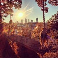 Das Foto wurde bei Atlanta BeltLine Northside Trail von matt g. am 11/10/2012 aufgenommen