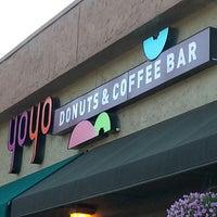 Photo taken at YoYo Donuts & Coffee Bar by Greta L. on 8/18/2013
