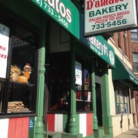 Photo taken at D'Amato's Bakery by Ned W. on 10/26/2012