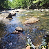 Photo taken at Chattahoochee River NRA - Sope Creek by Justin M. on 4/30/2016