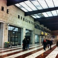 Photo taken at Firenze Santa Maria Novella Railway Station (ZMS) by Edoardo D. on 12/25/2012