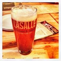 Photo taken at LaSalle Kitchen & Tavern by Greg F. on 2/23/2014