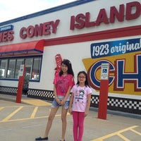 Photo taken at James Coney Island by Richard R. on 10/12/2013