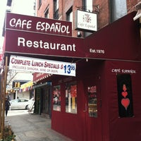Photo taken at Cafe Espanol by Imelda T. on 2/3/2013