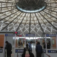 Photo taken at Shanghai South Railway Station by Ivan A. on 2/19/2013