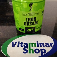 Photo taken at Vitaminar Shop by Michael B. on 5/14/2014