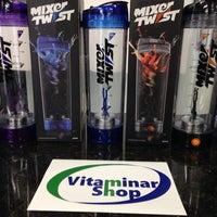 Photo taken at Vitaminar Shop by Michael B. on 3/28/2014