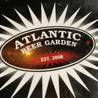 Photo taken at Atlantic Beer Garden by Marybeth C. on 6/7/2013