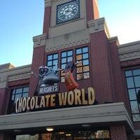 Photo taken at Hershey's Chocolate World by Оксана К. on 11/17/2012