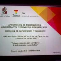 Photo taken at Secretaría de Finanzas by Karla O. on 4/12/2013
