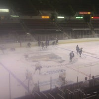 Photo taken at Carver Arena by Chad T. on 10/1/2012
