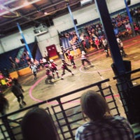 Photo taken at Roller Derby by Dominic S. on 6/16/2013