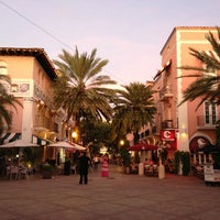 Photo taken at Espanola Way Village by Manny A. on 9/30/2012