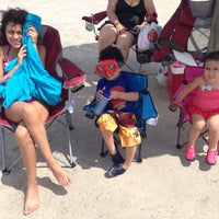 Photo taken at Rockport Beach Park by David P. on 6/28/2014