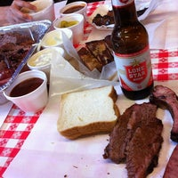 Photo taken at Rudy's Country Store & Bar-B-Q by rob a. on 11/9/2012