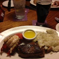 Photo taken at Outback Steakhouse by Barb S. on 10/26/2012