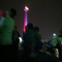 Photo taken at Lapangan Silang Monas by adhie m. on 9/21/2013