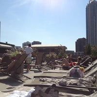 Photo taken at East Bank Club Pool Deck by Mike D. on 8/17/2013