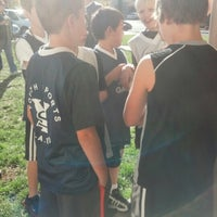 Photo taken at Marsh Junior High by Courtney C. on 12/8/2012