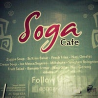 Photo taken at Soga cafe by Moses M. on 3/7/2013
