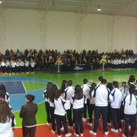 Photo taken at Colegio Cervantes by Jose L G. on 6/20/2016