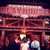 Photo taken at Pickleville Playhouse by Jordan A. on 8/31/2013