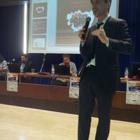 Photo taken at Centro Congressi Parma by Francesca P. on 4/19/2013