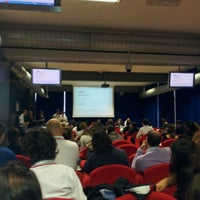 Photo taken at Centro Congressi Parma by Francesca P. on 10/13/2012