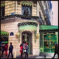 Photo taken at Ladurée by Yana V. on 1/2/2013